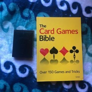 The Card Games Bible Book [Coffee Table]